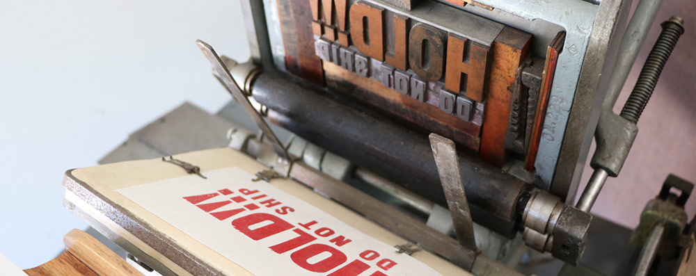 Why mess with letterpress?