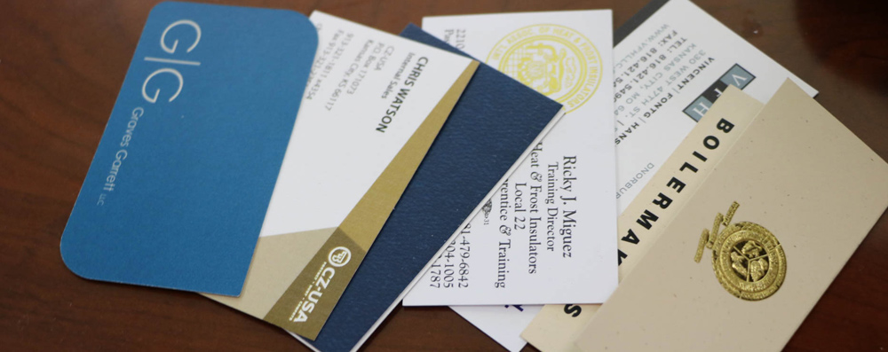 4 great options for business card finishes