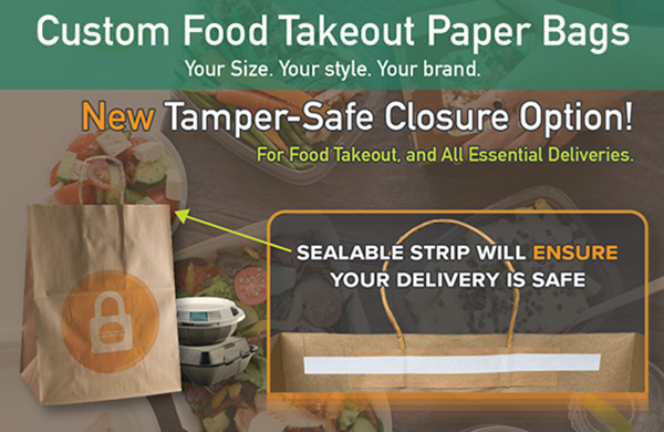 tamper-proof delivery bags